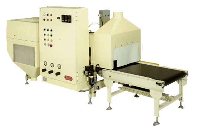 AMO's automatic valve sealer machine for valve bag