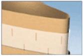 Slit Polyvinyl-Kraft Paper Bags