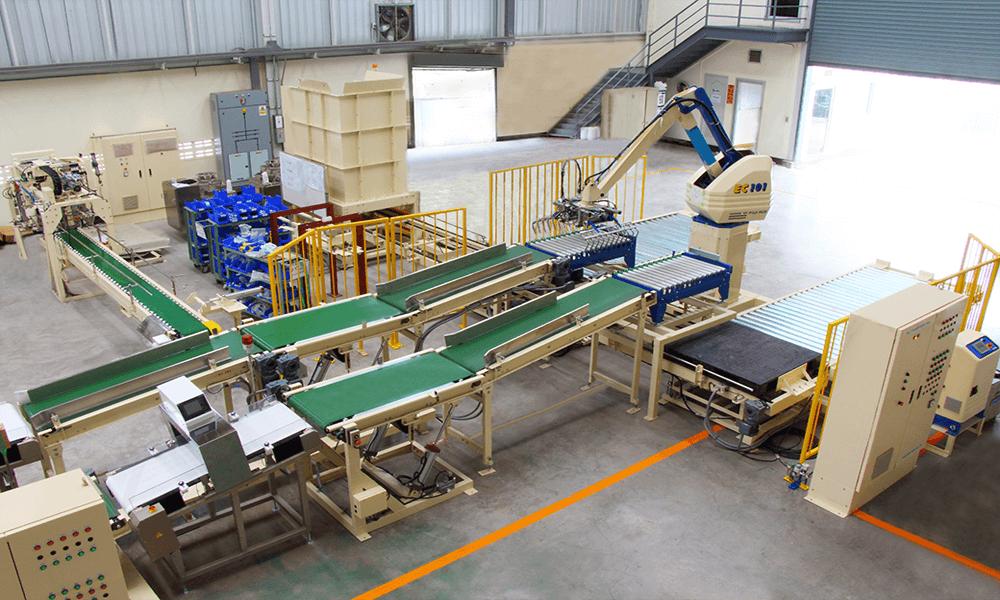 conveyor line system at Nagasaki Kiki (Thailand)